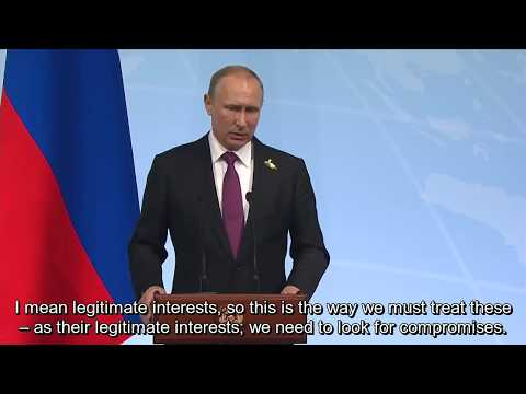 Putin: US Position on Syria Became More Pragmatic
