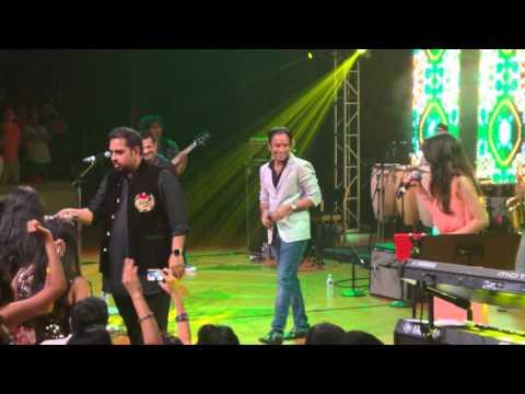 Shankar Ehsaan Loy Kajra Re live Austin 4k
