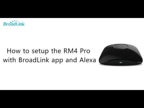BroadLink RM4 Pro Kurulumu Ve Amazon Alexa Entegrasyonu