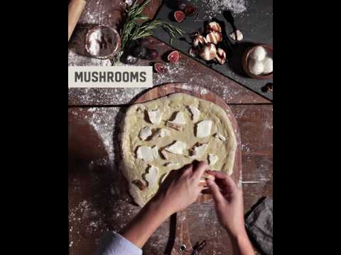 Fig Mushroom Pizza | Kenwood Vineyards recipe