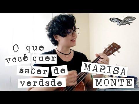 O Que Você Quer Saber De Verdade - Marisa Monte (ukulele Cover)