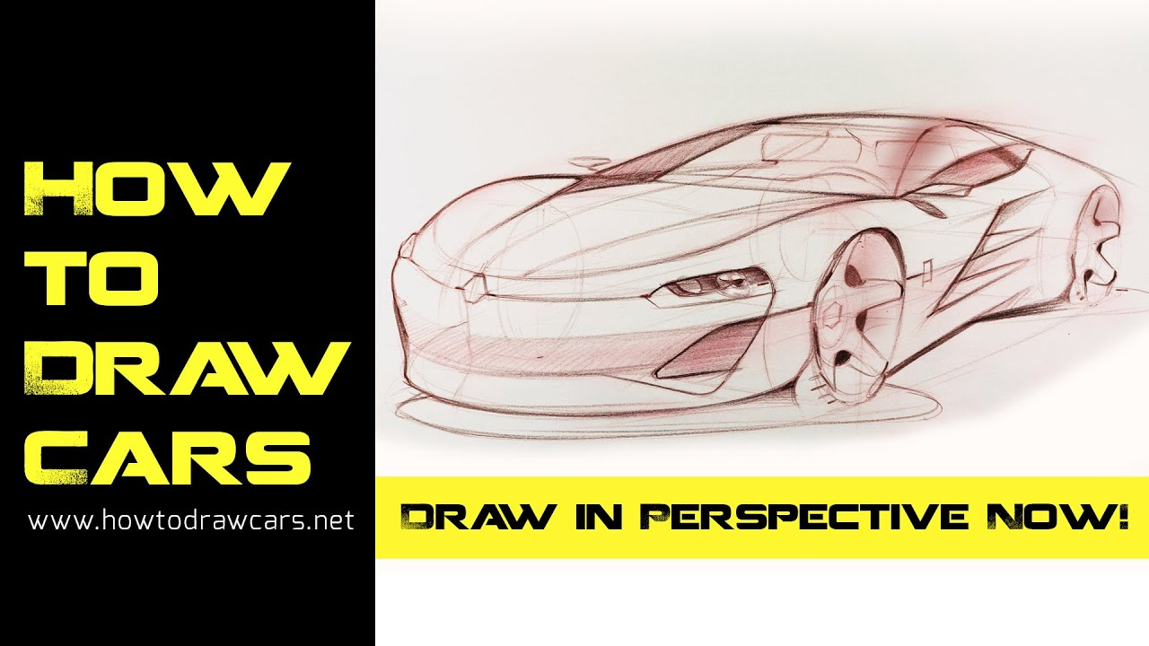Car Design Drawings - Secrets of Drawing a Car in Perspective ...