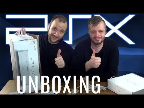 SONY PSX (DVR) - Unboxing!
