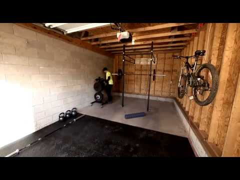 Garage gym ideas crossfit u madison art center design