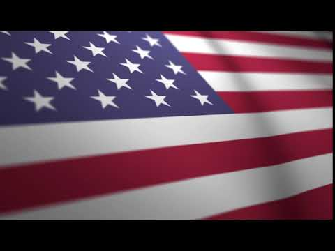 Waving American Flag Background - FREE Stock Footage