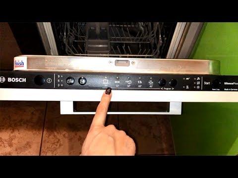 Посудомоечная машина Bosch SPV25DX30R. Обзор и отзыв