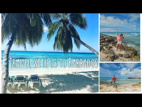 VLOG 1 // TRAVEL WITH US TO BARBADOS
