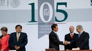 105 Asamblea General Ordinaria del Instituto Mexicano del Seguro Social