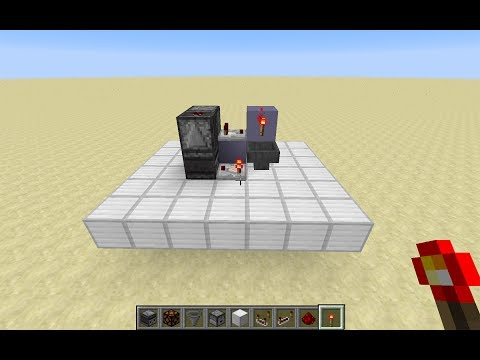 Minecraft - Compact Long Delay Circuit - YouTube