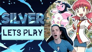 WHITNEY'S EVIL MILTANK! CAN WE WIN?! Pokemon Silver Let's Play #7