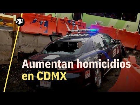 Un asesinado cada 6 horas en CDMX
