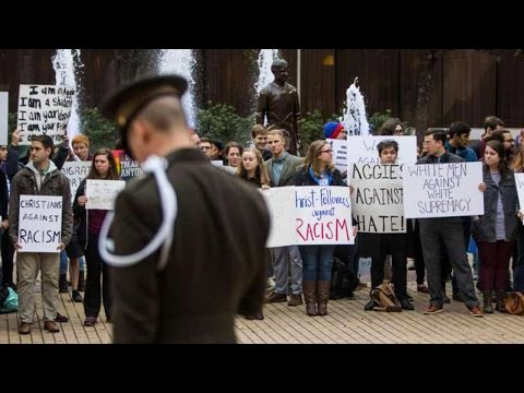University Protesters 1, White Supremacists 0