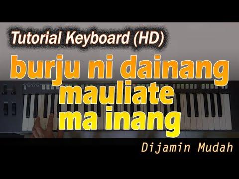 Belajar Mengiringi Lagu MAULIATE MA INANG [Chord Keyboard]
