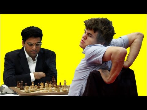 Magnus Carlsen vs. Vishy Anand  2012 Chess Masters Final  Bilbao