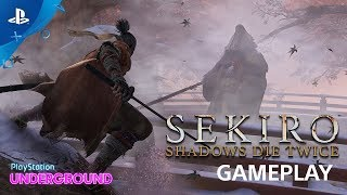 Sekiro: Shadows Die Twice Gameplay Walkthrough and Corrupted Monk Boss Battle | PS Underground TWICE 検索動画 15