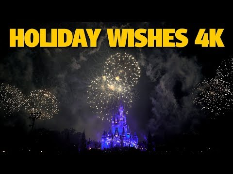 Holiday Wishes | Mickey's Very Merry Christmas Party 2017