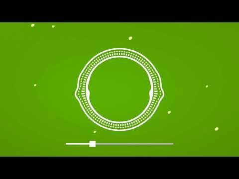 Green screen visualizer template audio Spectrum VFX