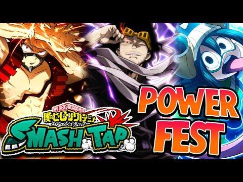 NEW SMASH FEST MOMO SUMMONS! - My Hero Academia Smash Tap