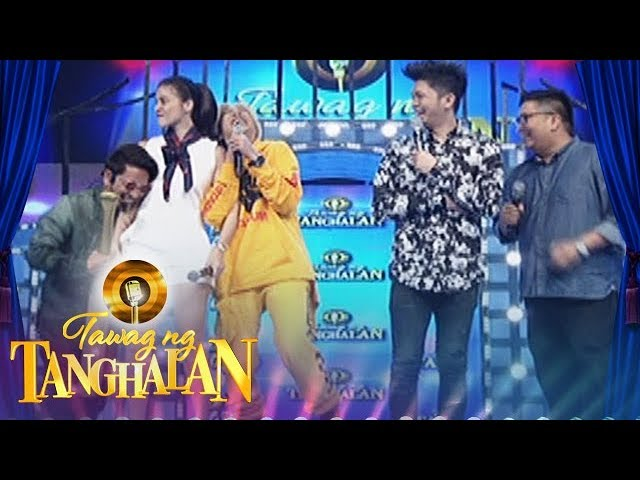 Tawag ng Tanghalan: Jhong and Vice poke fun at Anne's outfit