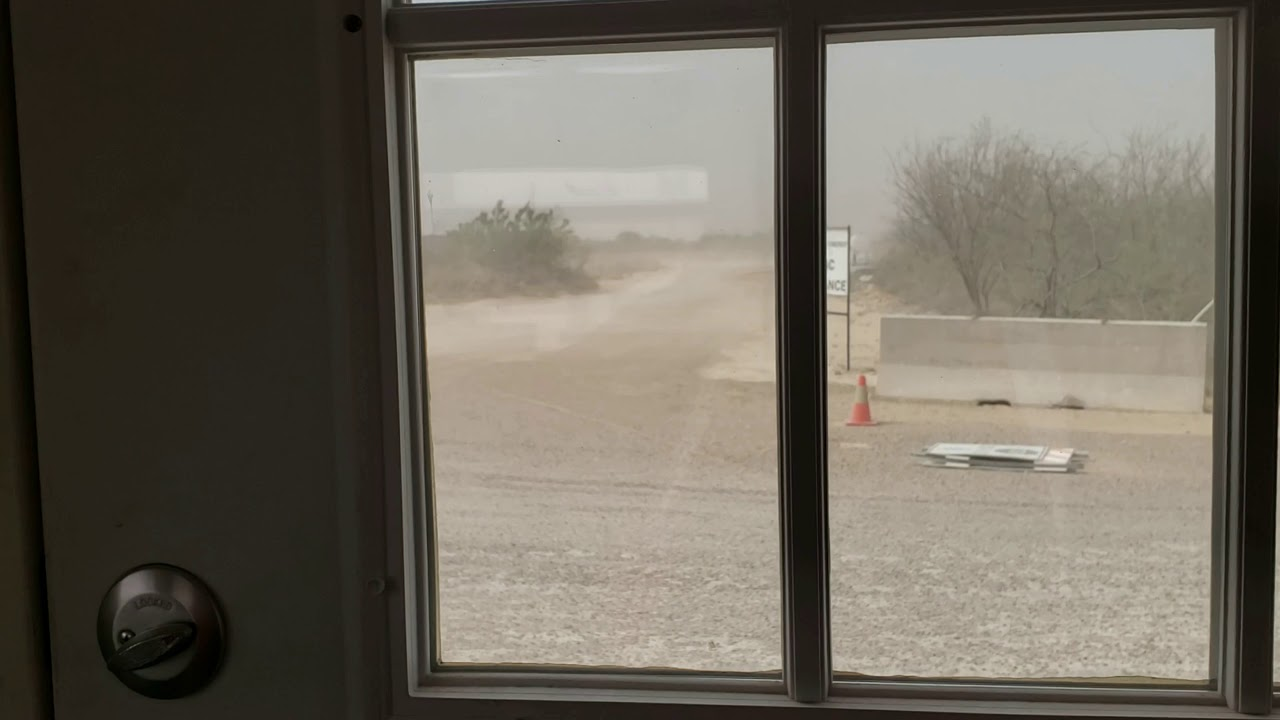 Blinding Dust Storm in Texas Panhandle Causes Multiple Car