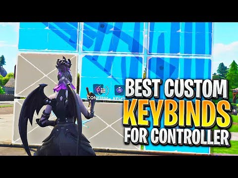 The BEST Custom Controller Bindings On PS4 And Xbox!! (Fortnite Console Custom Keybinds)