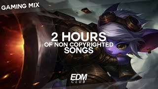 2 HOURS OF NON COPYRIGHTED SONGS | GAMING MIX: EDM, TRAP, FUTURE, BASS, DUBSTEP 2016 / 2017