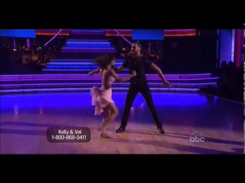 KELLY MONACO VAL FINAL FREESTYLE Dirty Dancing With The Stars GH General Hospital Sam  112612