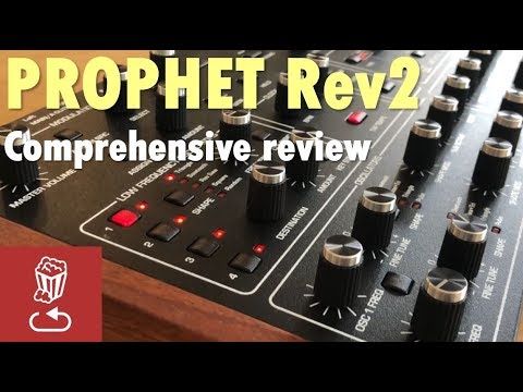 Review of the Prophet Rev2 by Dave Smith - is it the analog poly synth for  you?