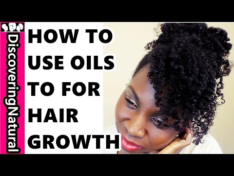 How to Use Oils in Natural Hair Regimen for Healthy Hair Growth | My DNA Life Naturals
