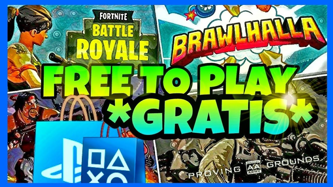 Top 10 Mejores Juegos Gratis Ps4 2018 Free To Play Youtube