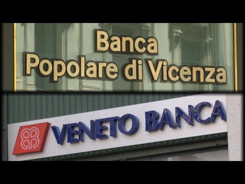 Italian government bails out two regional banks