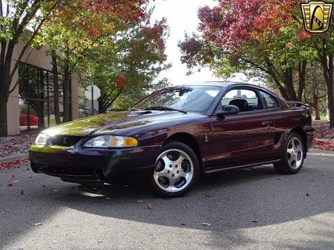 1996 Ford Mustang Cobra Stock # 833