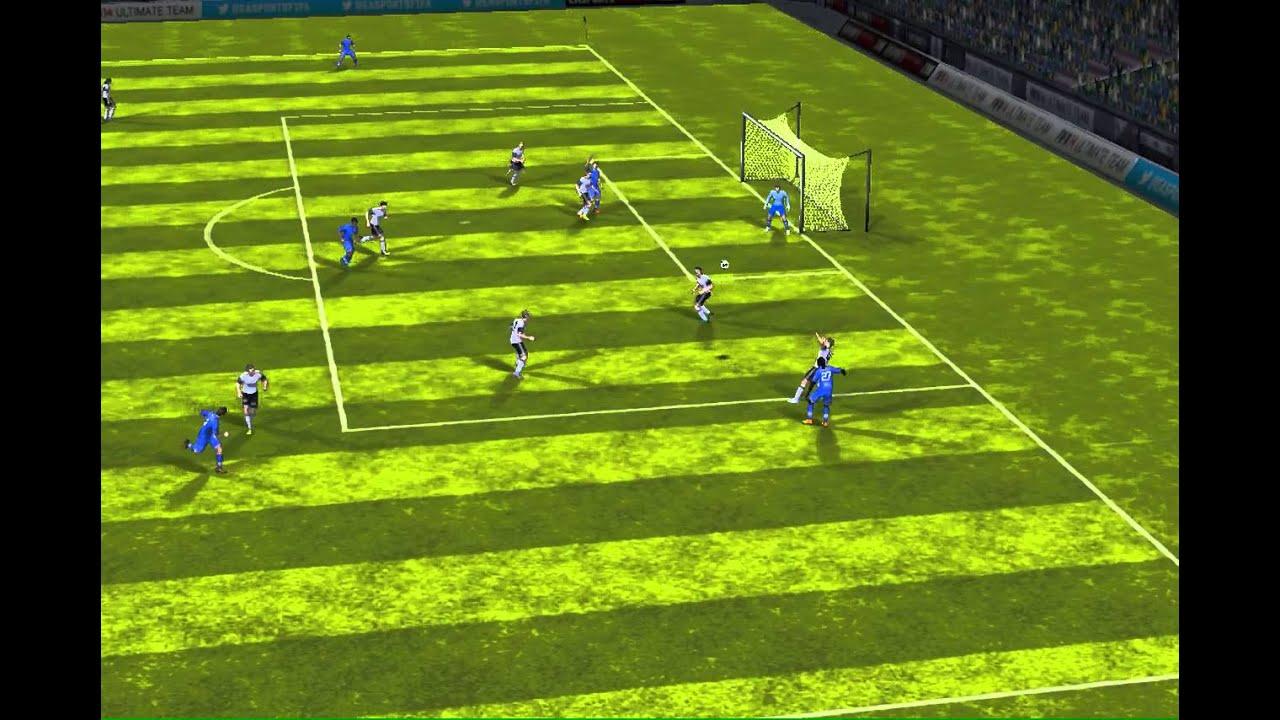 FIFA 14 iPhone/iPad - Molde FK vs. Rosenborg BK - YouTube