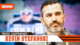 """Kevin Stefanski: """"We're exploring every avenue to improve our roster"""" 