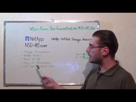 NS0-145 – NetApp Exam Certified Storage Test Associate Questions