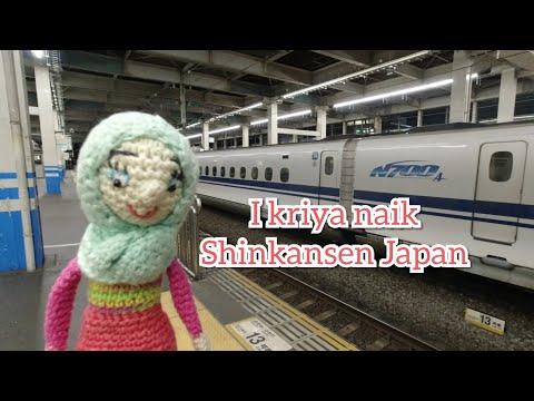 I Kriya Naik Shinkansen Jepang(Travel Amigurumi I Kriya) Episode 2
