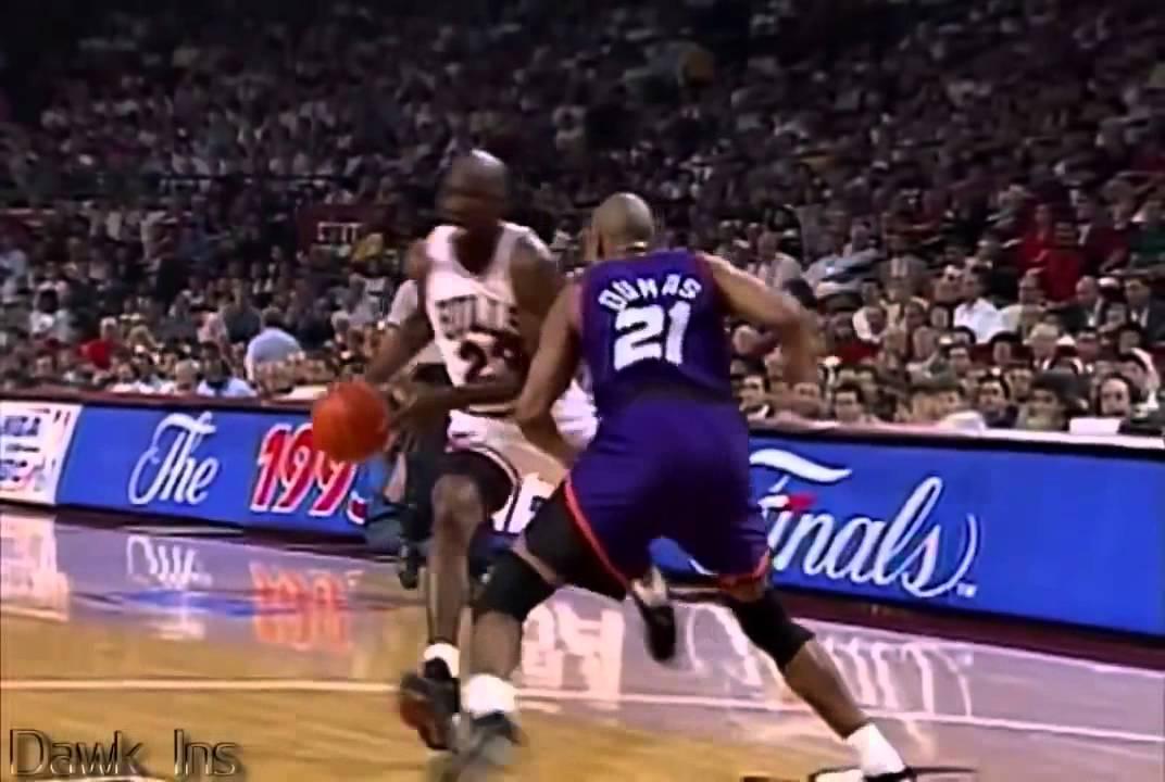 喬丹 - 55分/芝加哥公牛隊vs菲尼克斯太陽隊1993年NBA總決賽G4 - YouTube