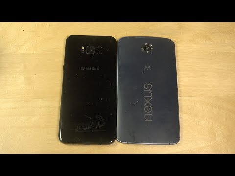 Samsung Galaxy S8 Plus vs. Nexus 6 - Which Is Faster?