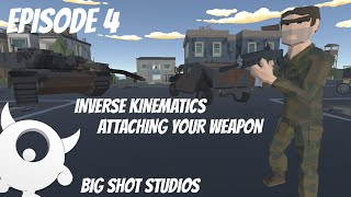[4] Inverse Kinematics - Attaching your Weapon Using IK || Multiplayer  Series