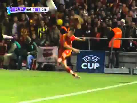 Bordeaux 2 - 1 Galatasaray - Match entier  (25-10-2007)   Coupe UEFA
