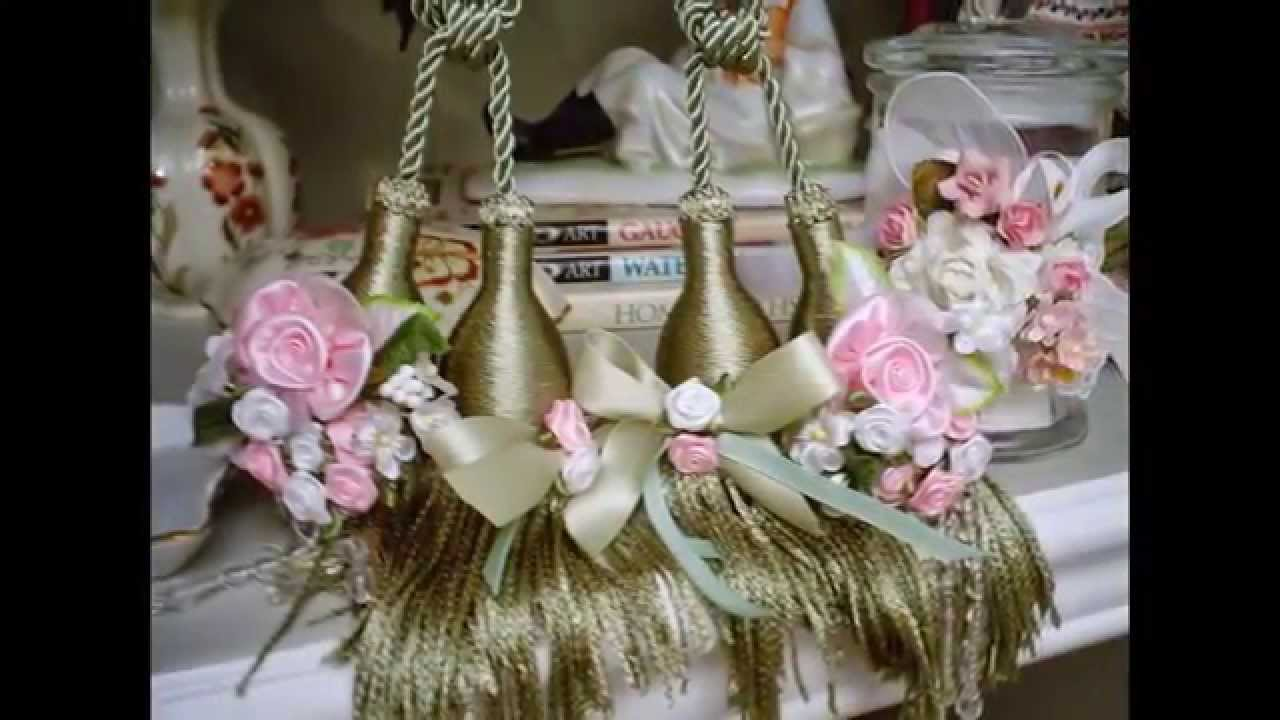 Unique hand made shabby chic and cottage chic pink roses - Decoration style campagne chic ...