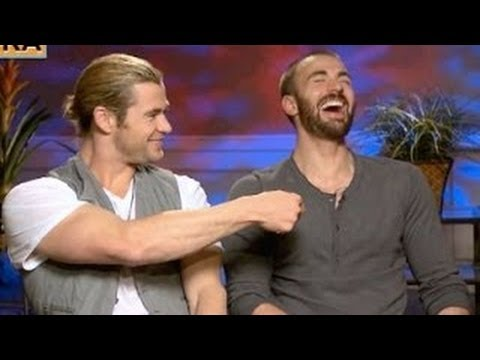 Chris Hemsworth & Chris Evans Funny Moments from YouTube · Duration:  3 minutes 59 seconds