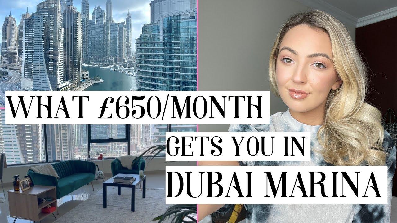 Apartment tour and rent prices in Dubai Marina - 2021