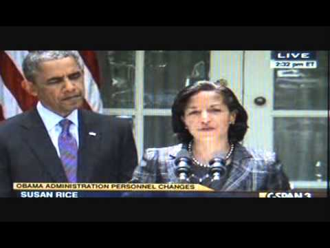 Obama yells YAY! for Susan Rice as Nat'l Security Advisor