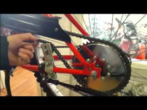 Push Bike Engine Video tips how to maintain your bike