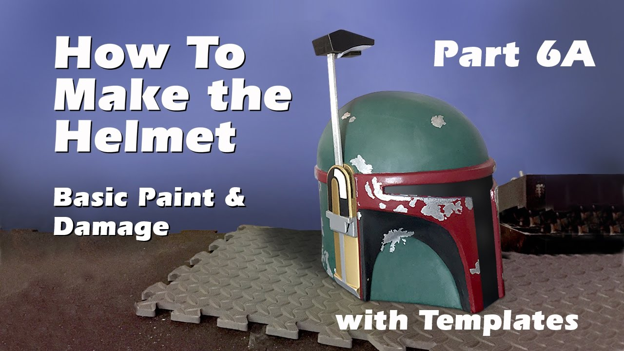 how to make a boba fett helmet step by step guide part 6a youtube