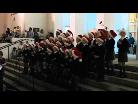 Saltus Choir At Tree of Lights Nov 25 2011