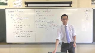 Harder Locus Problems (Student Requested Question: Parabola flipped 45*)
