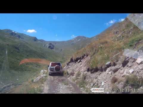 Dacia Duster off road on Shara Mountain in Macedonia