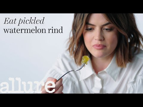 Lucy Hale Tries 9 Things She's Never Tried Before | Allure